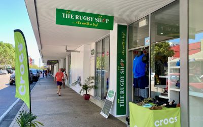How NT Government Grants have helped The Rugby Shop